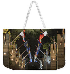 Avenue Of Flags Weekender Tote Bag by Juli Scalzi