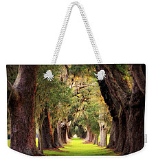 Avenue Of Oaks Sea Island Golf Club St Simons Island Georgia Art Weekender Tote Bag