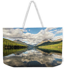Avenue To The Mountains Weekender Tote Bag by Alex Lapidus