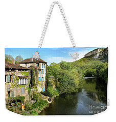 Aveyron River In Saint-antonin-noble-val Weekender Tote Bag by RicardMN Photography