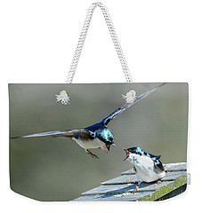 Avian Air Traffic Control Weekender Tote Bag
