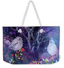 Avian Midnight Weekender Tote Bag