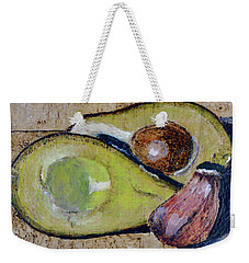 Avocado And Garlic Weekender Tote Bag