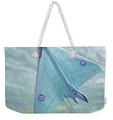 Avro Vulcan B1 Night Flight Weekender Tote Bag