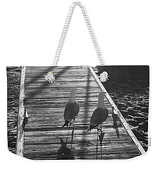 Awaiting Flight Weekender Tote Bag