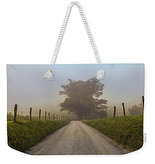 Weekender Tote Bag featuring the photograph Awaiting The Horizon by Jessica Brawley