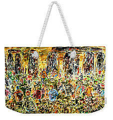 Awaiting The Sun Weekender Tote Bag by Alfred Motzer