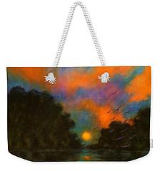 Awaken The Dream Weekender Tote Bag by Alison Caltrider