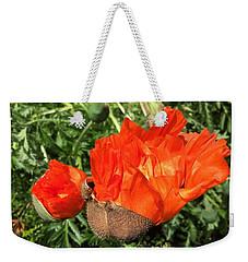 Awakening Poppy Weekender Tote Bag