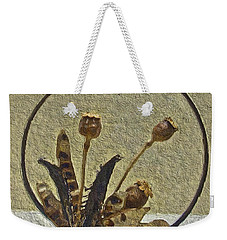 Weekender Tote Bag featuring the painting Award Winning Florals by Joan Reese