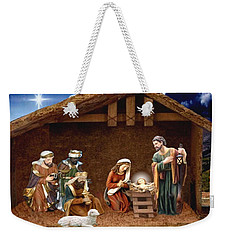 Away In The Manger Weekender Tote Bag