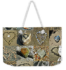 Awesome Hearts Found In Nature - Valentine S Day Weekender Tote Bag
