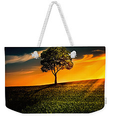 Awesome Solitude II Weekender Tote Bag