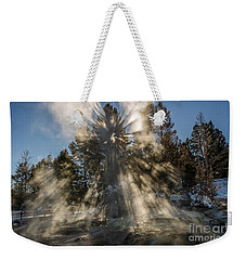 Weekender Tote Bag featuring the photograph Awestruck by Sue Smith