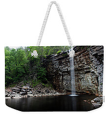 Weekender Tote Bag featuring the photograph Awosting Falls In Spring #3 by Jeff Severson