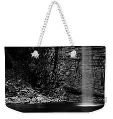Weekender Tote Bag featuring the photograph Awosting Falls In Spring #4 by Jeff Severson