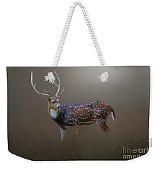 Axis Deer Weekender Tote Bag by Marion Johnson