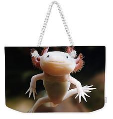 Axolotl Face Weekender Tote Bag