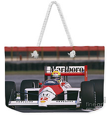 Ayrton Senna. 1988 Mexican Grand Prix Weekender Tote Bag
