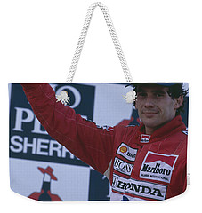 Ayrton Senna. 1989 Spanish Grand Prix Winner Weekender Tote Bag