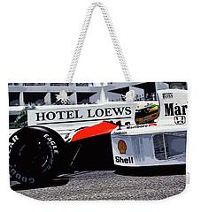 Ayrton Senna - Montecarlo Weekender Tote Bag