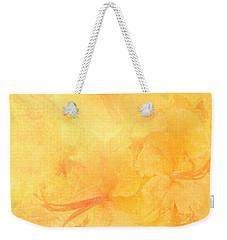 Azalea Impressions Weekender Tote Bag by Catherine Alfidi