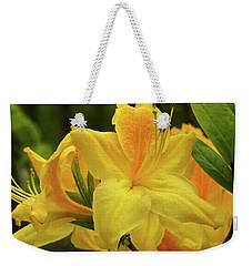 Azalea Weekender Tote Bag by Jane Eleanor Nicholas