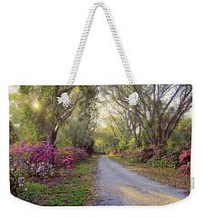 Azalea Lane By H H Photography Of Florida Weekender Tote Bag by HH Photography of Florida