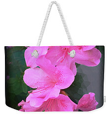 Azalea Spray Weekender Tote Bag