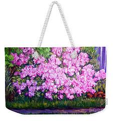 Azalea Spring Weekender Tote Bag