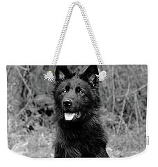 Weekender Tote Bag featuring the photograph Aziza  by Sandy Keeton