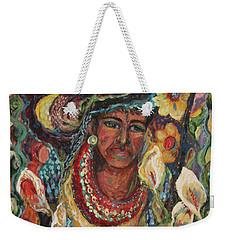 Aztec Garden Weekender Tote Bag