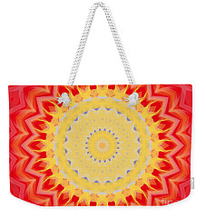Aztec Sunburst Weekender Tote Bag by Roxy Riou