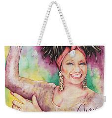 Azucar Celia Cruz Weekender Tote Bag