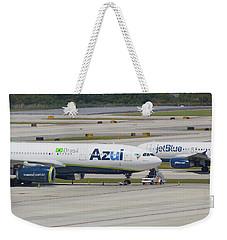 Azul Jet Blue Weekender Tote Bag