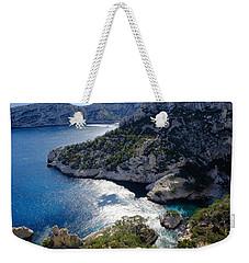 Azure Calanques Weekender Tote Bag