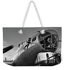 B-17 Nose Weekender Tote Bag