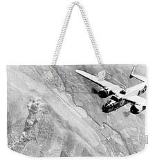 B-25 Bomber Over Germany Weekender Tote Bag