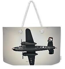 B-25 Fly By Weekender Tote Bag