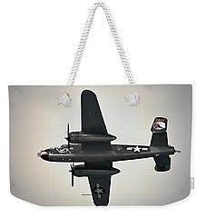 B-25 Fly By Weekender Tote Bag