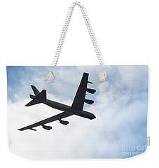 B-52 Flyover Weekender Tote Bag