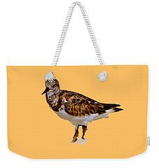 Weekender Tote Bag featuring the digital art B Bird by Francesca Mackenney