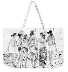 Weekender Tote Bag featuring the photograph B-f-f by Bob Pardue