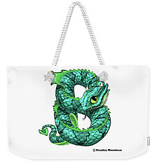 B Is For Basilisk Weekender Tote Bag