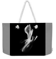 B/w Flame 0242 Weekender Tote Bag