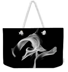 B/w Flame 0456 Weekender Tote Bag