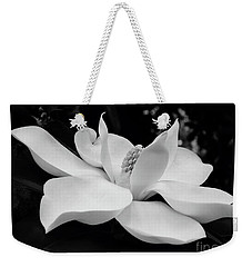 B W Magnolia Blossom Weekender Tote Bag
