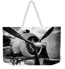 B25 Radial Engine Weekender Tote Bag