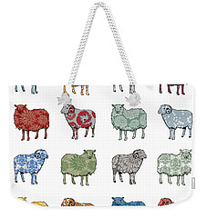 Baa Humbug Weekender Tote Bag by Sarah Hough