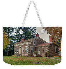 Weekender Tote Bag featuring the photograph Babcock House Autumn 13937 by Guy Whiteley